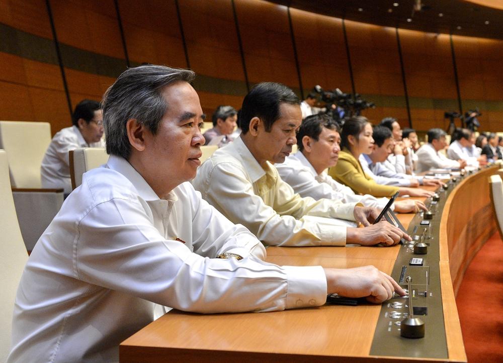 Quốc hội biểu quyết miễn nhiệm Thủ tướng Chính phủ
