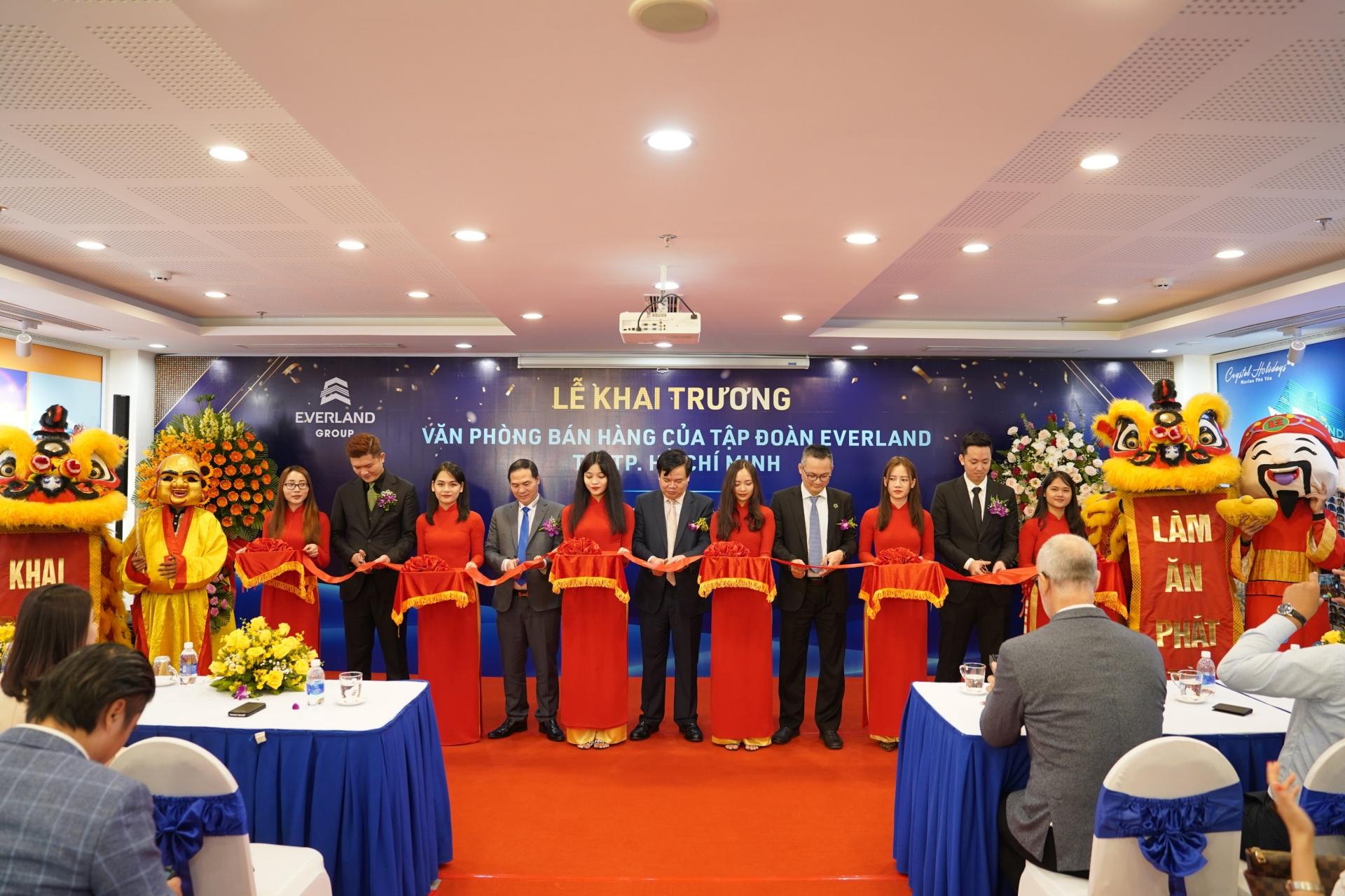Tập đoàn Everland khai trương Văn phòng bán hàng tại Thành phố Hồ Chí Minh