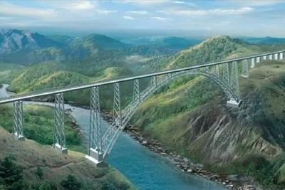 Ấn Độ xây cầu đường sắt cao nhất thế giới ở cửa ngõ Pakistan