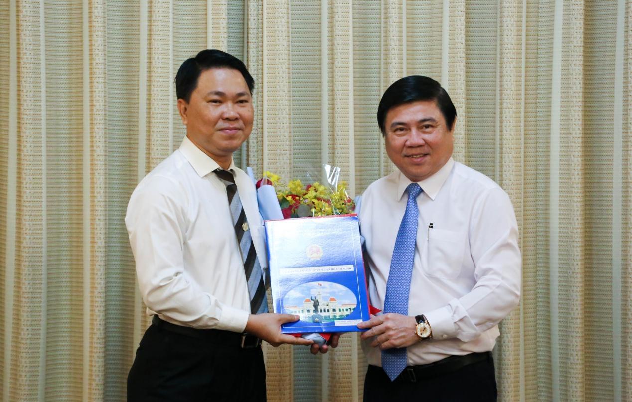 Ông Trần Hoàng Quân làm Giám đốc Sở Xây dựng Thành phố Hồ Chí Minh