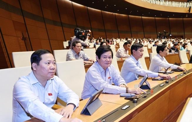 trinh phe chuan cac pho thu tuong va 12 thanh vien chinh phu