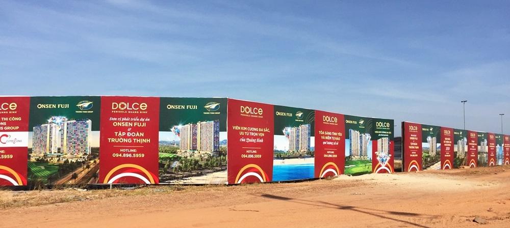 Quảng Bình: Chấm dứt việc rao bán các sản phẩm tại dự án Dolce Penisola