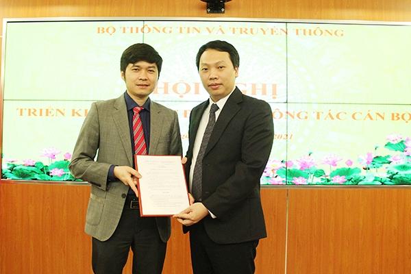 Sở Thông tin và Truyền thông Thái Nguyên có thêm một Phó Giám đốc