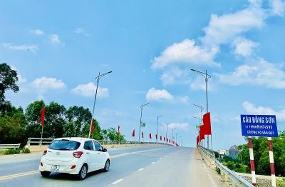 Bắc Giang: Chất lượng công trình cầu Đồng Sơn và một số yêu cầu kỹ thuật cần được ngành Giao thông xem xét đánh giá