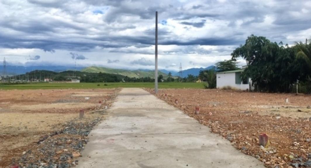 Thanh tra Bộ Tài nguyên Môi trường thanh tra việc phân lô, bán nền đất ở Khánh Hòa