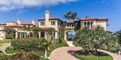 Biệt thự nghỉ mát 80 triệu USD của người giàu thứ 7 thế giới