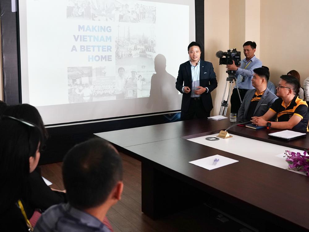 Saint – Gobain Việt Nam ra mắt sản phẩm trần thạch cao có khả năng thanh lọc không khí tới 85%