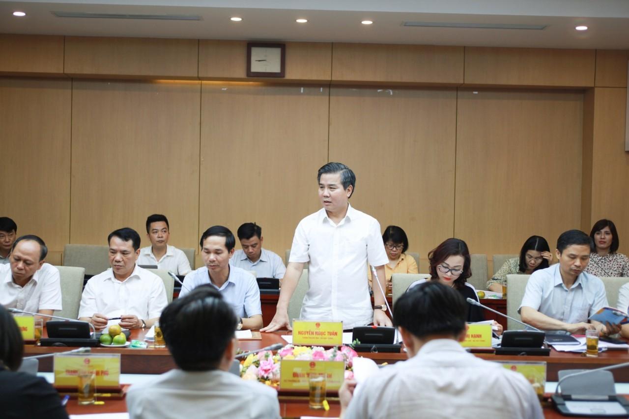 Thanh tra Bộ Xây dựng làm việc với Thanh tra Chính phủ về dự thảo Luật Thanh tra sửa đổi