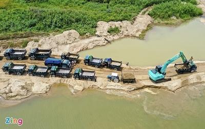 Loạn giá cát xây dựng ở Quảng Ngãi