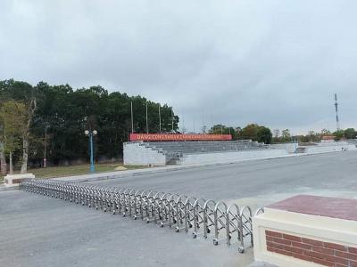 Nghĩa Đàn (Nghệ An): Đã khắc phục, sửa chữa các hạng mục xuống cấp tại Quảng trường trung tâm huyện