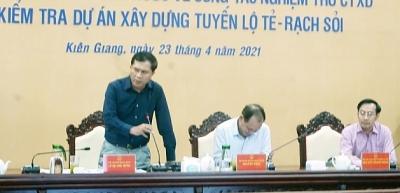 Thứ trưởng Bộ Xây dựng Lê Quang Hùng làm việc với tỉnh Kiên Giang
