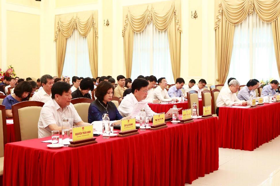Bộ trưởng Nguyễn Thanh Nghị lần đầu tiên chủ trì Hội nghị triển khai công tác Bộ Xây dựng