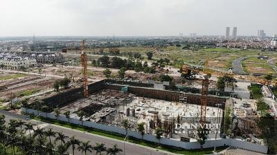 Sở Xây dựng Hà Nội kiểm tra việc thi công xây dựng dự án An Lạc Green Symphony