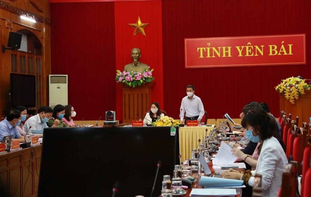 Đoàn kiểm tra công tác phòng, chống dịch bệnh Covid-19 của Bộ Y tế làm việc tại tỉnh Yên Bái