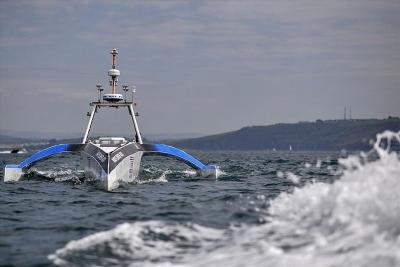 Tàu tự hành điều khiển bằng trí tuệ nhân tạo sắp vượt Đại Tây Dương