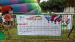 Lễ hội khinh khí cầu Ecopark: Thất vọng vì khí cầu không thể bay