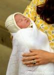 Vợ chồng Hoàng tử William khoe con gái mới sinh