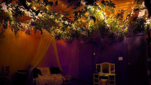 142400baoxaydung image012 Thiết kế phòng ngủ như vườn cổ tích cho bé gái