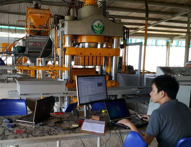 Sản xuất gạch không nung quy mô lớn – Hướng đi mới cho ngành xi măng