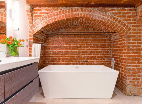 192057baoxaydung image001 Cùng nhìn qua những bức tường gạch tuyệt đẹp cho phòng tắm