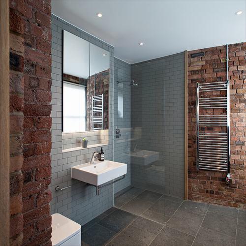 192057baoxaydung image003 Cùng nhìn qua những bức tường gạch tuyệt đẹp cho phòng tắm