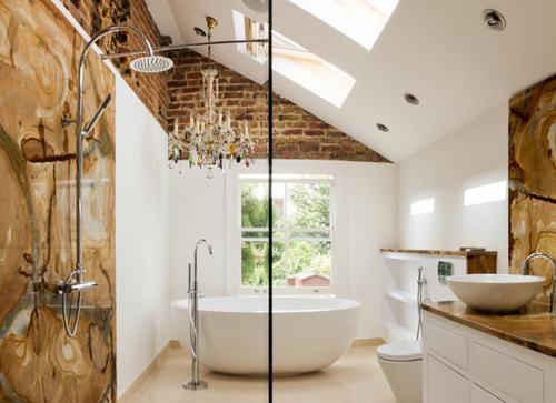 192057baoxaydung image008 Cùng nhìn qua những bức tường gạch tuyệt đẹp cho phòng tắm