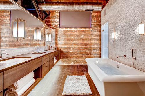 192058baoxaydung image011 Cùng nhìn qua những bức tường gạch tuyệt đẹp cho phòng tắm
