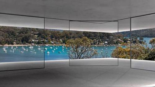 cửa kính được thiết kế tự di động mở rộng không gian