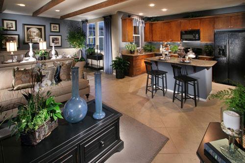 202629baoxaydung image005 Chía sẻ những cách tích hợp phòng bếp vào phòng khách thông minh