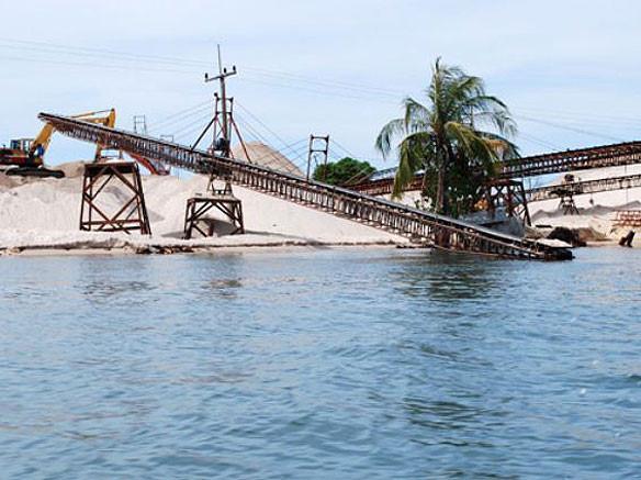 Phân tích nhu cầu xuất khẩu cát xây dựng biển nhiễm mặn