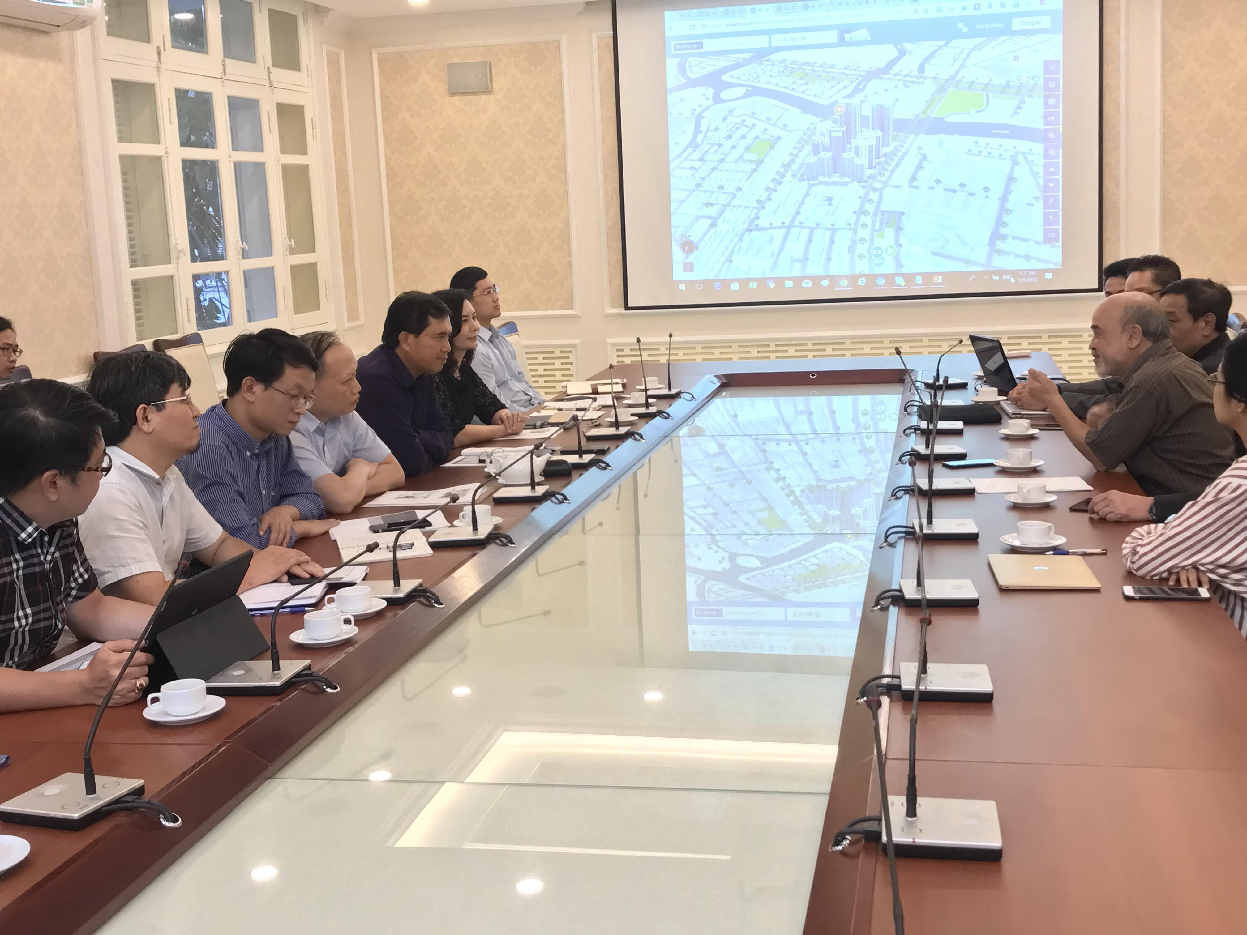 Thứ trưởng Lê Quang Hùng làm việc với Cty IOT Link