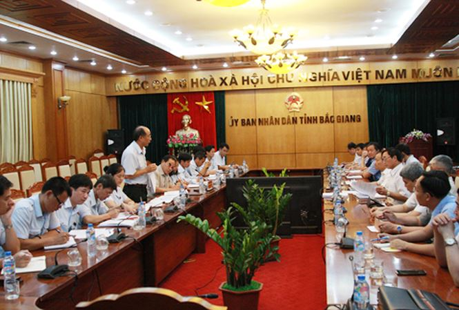 Thanh tra sử dụng đất đai và đầu tư xây dựng tỉnh Bắc Giang