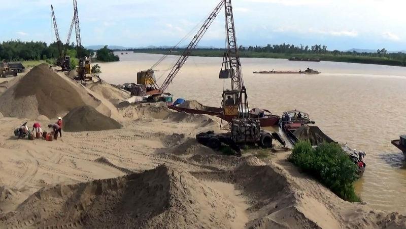 Khó khăn trong công tác quản lý khai thác cát, sỏi
