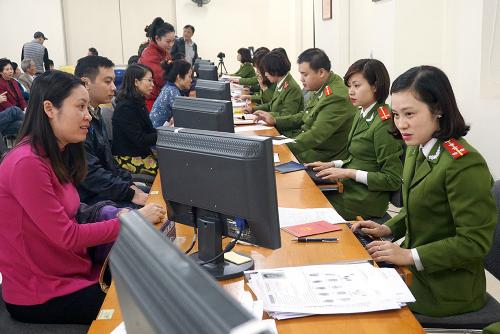 Người dân có thể được tra cứu vân tay trong cơ sở dữ liệu quốc gia