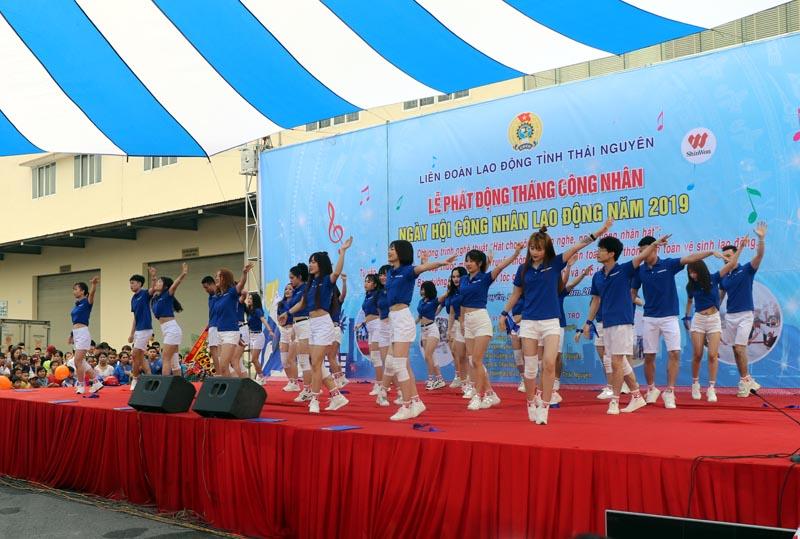 Thái Nguyên: Tổ chức nhiều hoạt động ý nghĩa trong Ngày hội Công nhân lao động