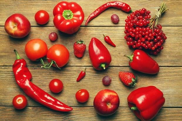 Khám phá bí mật dinh dưỡng trong các loại thực phẩm màu đỏ