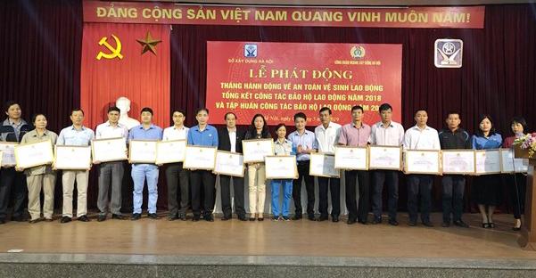 Hà Nội: Phát động tháng hành động an toàn vệ sinh lao động