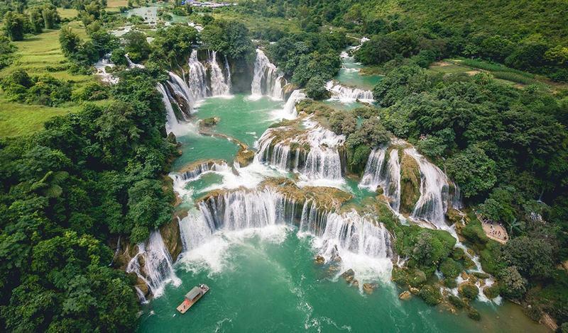 14 thác nước đẹp nhất thế giới, có 2 địa danh của Việt Nam