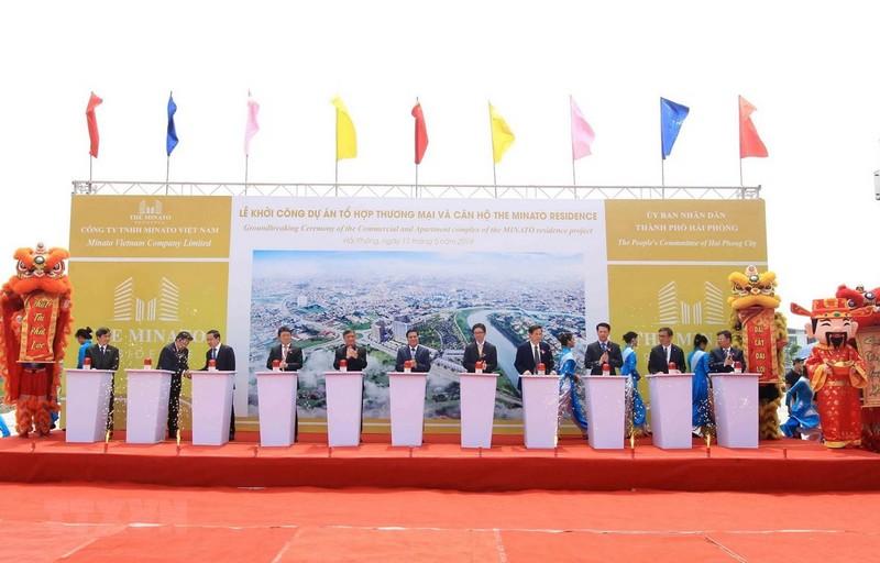Đầu tư 105 triệu USD xây tổ hợp thương mại-căn hộ tại Hải Phòng