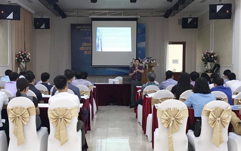 """Hải Dương: Đào tạo chuyên sâu về """"Quản lý dự án đầu tư xây dựng"""" theo Đề án 1961 của Chính phủ"""
