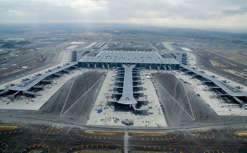 Bên trong sân bay lớn nhất thế giới, trị giá 12 tỷ USD