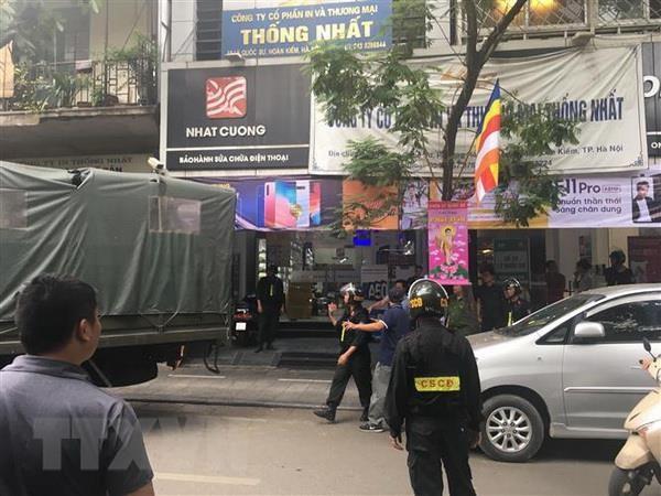 Truy nã Tổng giám đốc Công ty TNHH Nhật Cường Bùi Quang Huy