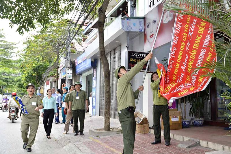 Phúc Yên (Vĩnh Phúc): Tăng cường thực hiện xây dựng nếp sống văn minh đô thị