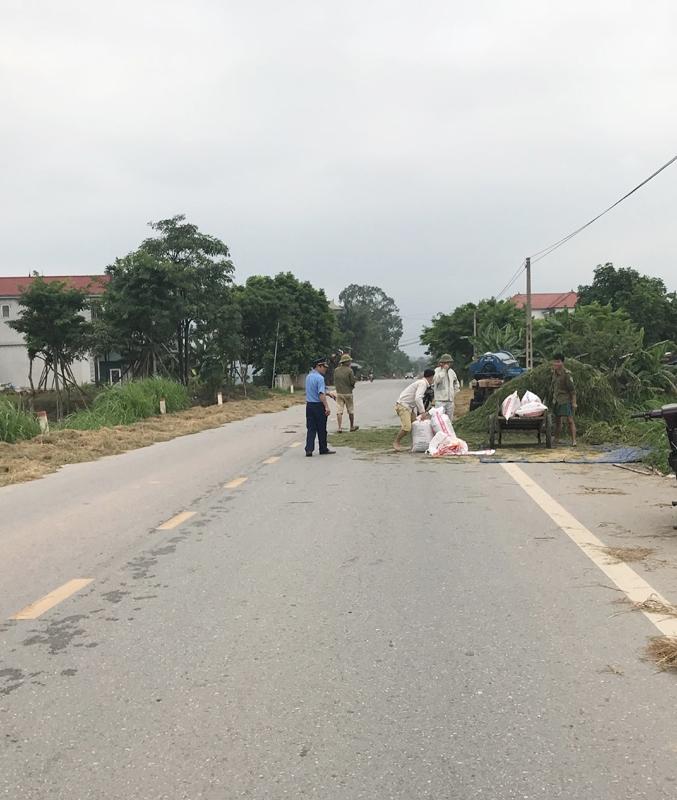 Vĩnh Phúc: Tăng cường các giải pháp đảm bảo an toàn giao thông mùa gặt