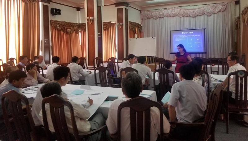 Nâng cao năng lực quản lý xây dựng và phát triển đô thị cho Chủ tịch, Phó Chủ tịch thành phố, huyện thuộc tỉnh Tiền Giang