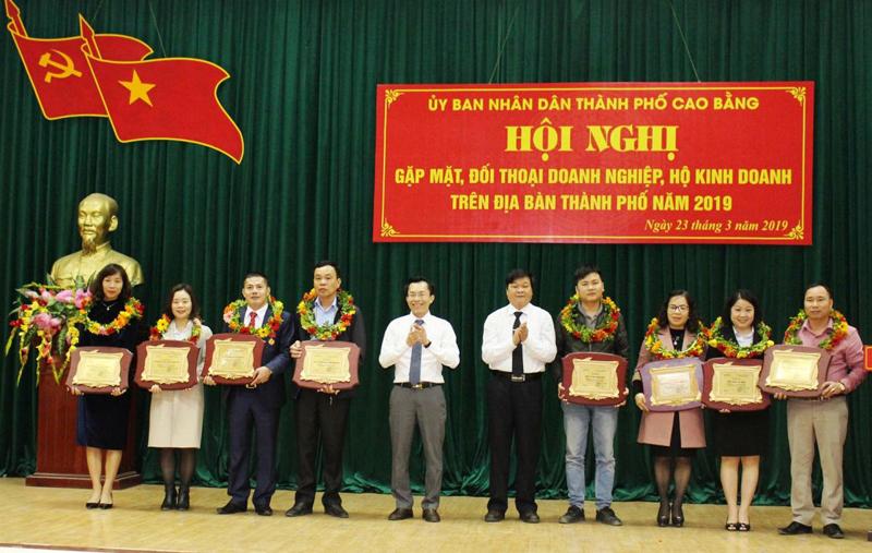 TP Cao Bằng: Phát huy vai trò của doanh nghiệp trong phát triển kinh tế - xã hội