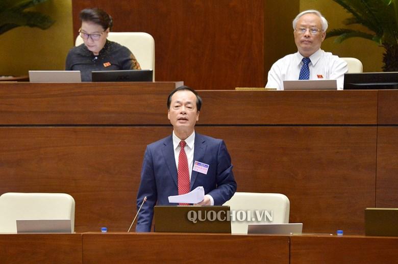 Bộ trưởng Phạm Hồng Hà trả lời chất vấn ĐBQH về Dự thảo Luật Kiến trúc