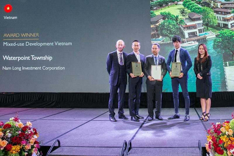 Nam Long đoạt giải thưởng danh giá tại Asia Pacific Property Awards 2019 - 2020