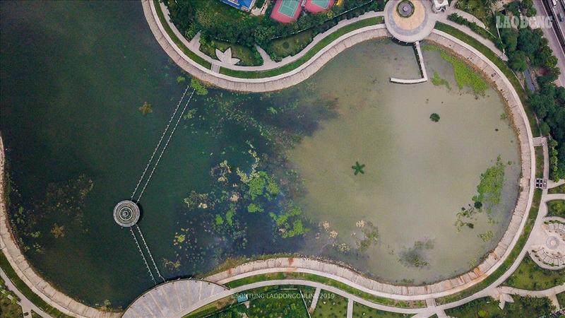 Hà Nội: Công viên trăm tỉ ô nhiễm trầm trọng, dân không dám