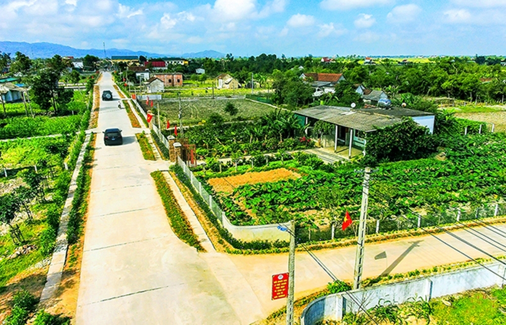 Hà Tĩnh: Phân bổ gần 642 tỷ đồng xây dựng Nông thôn mới trong năm 2020